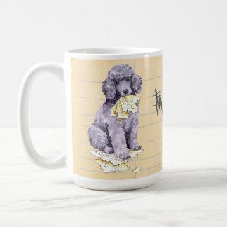 My Poodle Ate my Homework Coffee Mug