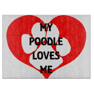 my poodle loves me boards