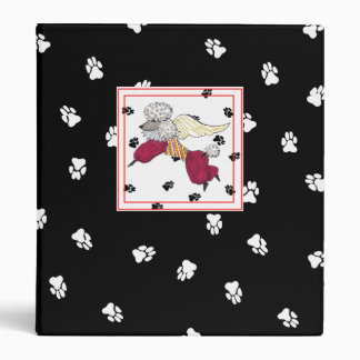 My Poodle's Adventures Album Vinyl Binder