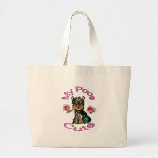 My Poos Cute Large Tote Bag