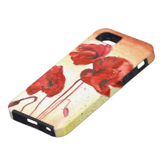 My Poppies in the Summer iPhone 5 Cases