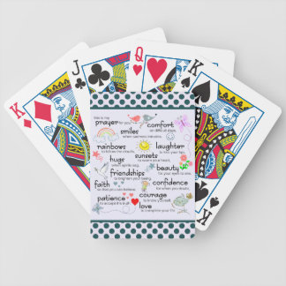 My Prayer For You Bicycle Playing Cards