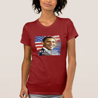 My President Barack Obama (Flag) tshirt