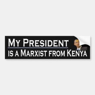 My President Bumper Sticker