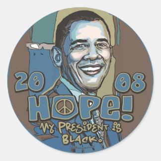 My President is Black Obama Sticker