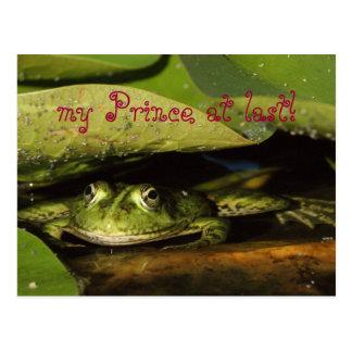 my Prince at last! Postcard