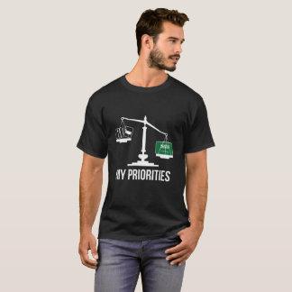 My Priorities Saudi Arabia Tips the Scales Flag T-Shirt