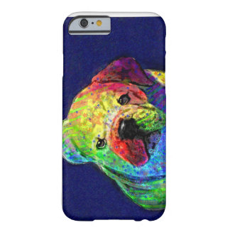 my psychedelic bulldog barely there iPhone 6 case
