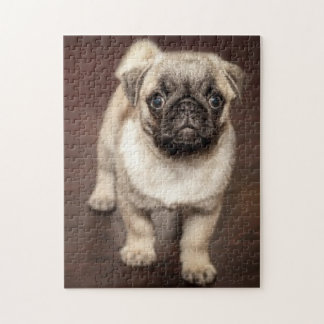 My Pug Puppy Dog Jigsaw Puzzle with Gift Box