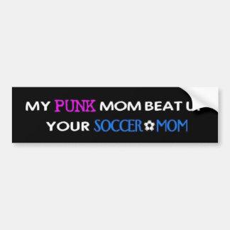 My Punk Mom2 Bumper Sticker