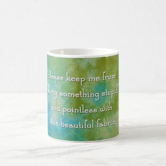 My Quilter's Prayer Mug