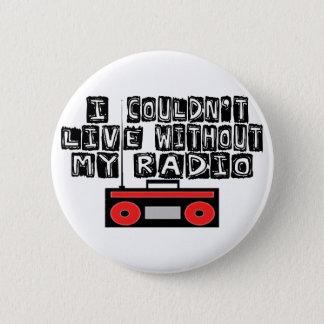 My Radio 2 Inch Round Button
