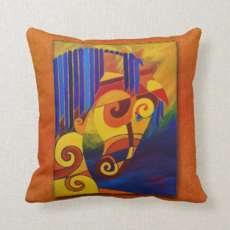 My Rainbow Carnival Pony Pillow! Throw Pillow