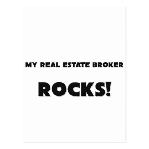MY Real Estate Broker ROCKS! Postcard