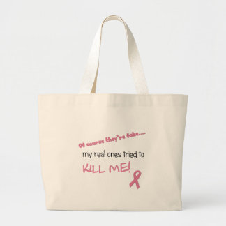 My Real Ones Tried to Kill Me Canvas Bag