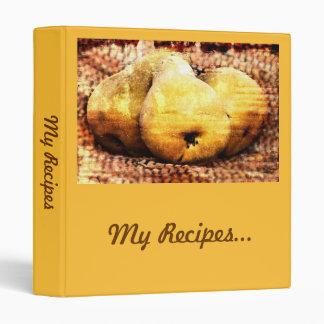 My Recipes fruit recipe binder