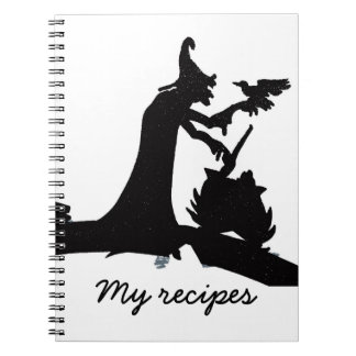 My recipes spiral notebook