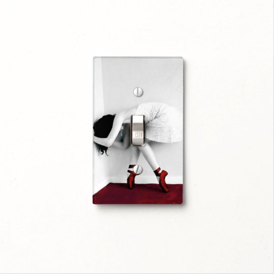 My Red Shoes Light Switch Cover