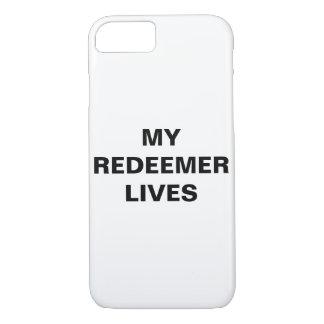 """My Redeemer Lives"" Apple iPhone 8/7 Case"