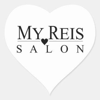 My Reis Salon heart sticker