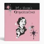 My Retro Home Organization Binder