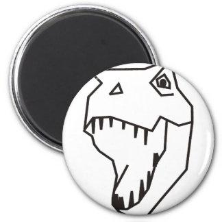 My Rex 2 Inch Round Magnet