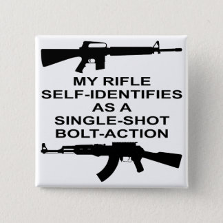 My Rifle Self Identifies As A Single Shot Bolt Act 2 Inch Square Button