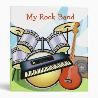 My Rock Band Vinyl Binders