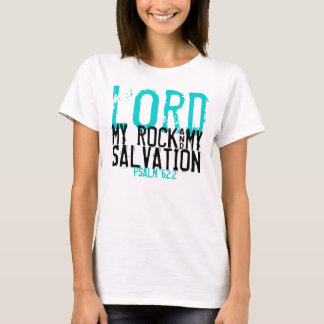 My Rock & My Salvation bible verse t-shirt