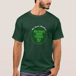 My Role Models - AbuBakr, Umar, Usman & Ali (RAA) T-Shirt