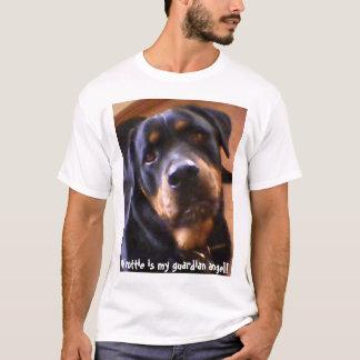 My rottie is my guardian angel! T-Shirt