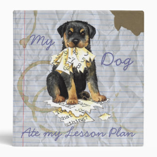 My Rottweiler Ate My Lesson Plan Binders