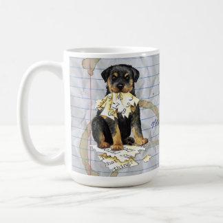 My Rottweiler Ate My Lesson Plan Coffee Mug