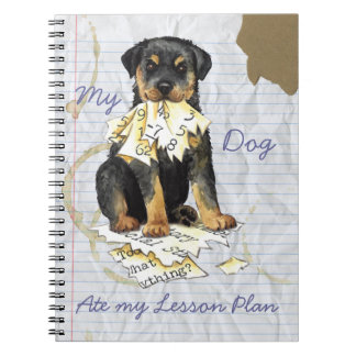 My Rottweiler Ate My Lesson Plan Notebooks