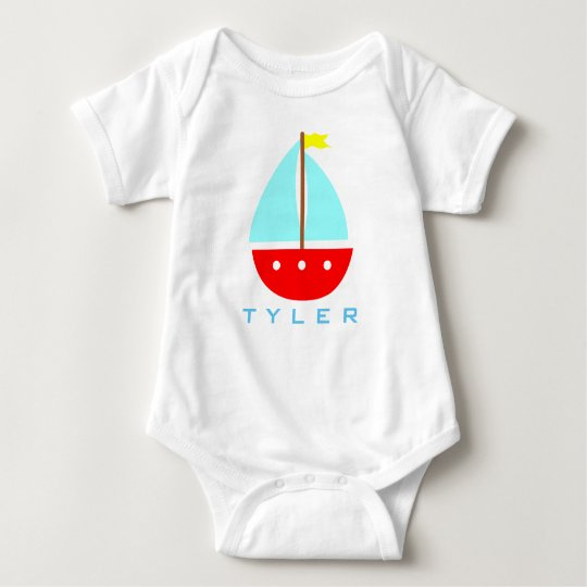 My Sailboat 2 Baby Bodysuit