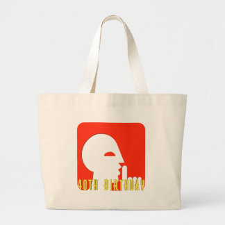 My Secret 40th Birthday Gifts Large Tote Bag