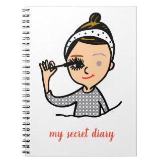 my secret diary notebook