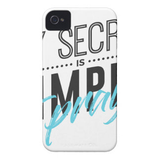 My Secret Is Simple I Pray iPhone 4 Cover