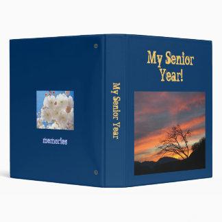 My Senior Year scrapbook photo memories binder