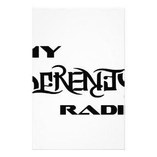 My Serenity Radio Products Support Vets Stationery