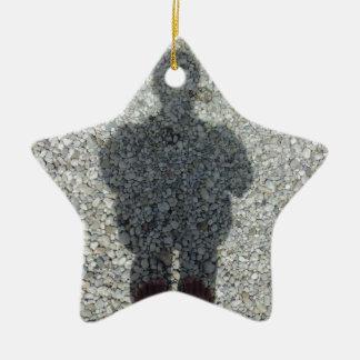My Shadow Ceramic Star Ornament
