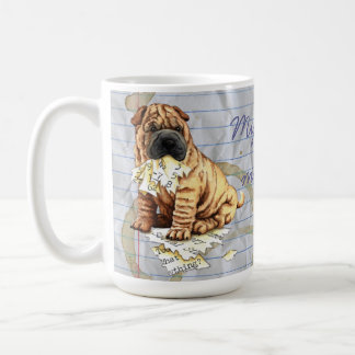 My Shar-Pei Ate My Lesson Plan Coffee Mug