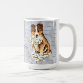 My Sheltie Ate my Lesson Plan Coffee Mug