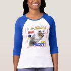 My Sheltie Loves Agility- blue merle T-Shirt