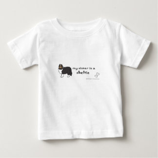 my sister is a sheltie baby T-Shirt
