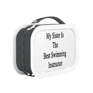 My Sister Is The Best Swimming Instructor Lunch Box