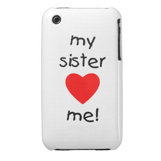 My Sister Loves Me iPhone 3 Case