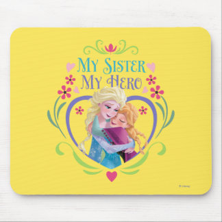 My Sister My Hero Mouse Pad