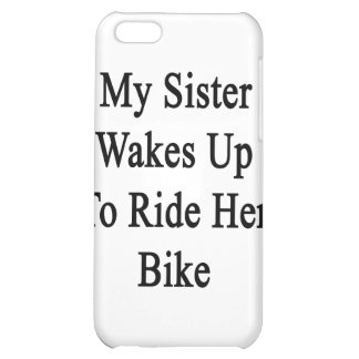 My Sister Wakes Up To Ride Her Bike Cover For iPhone 5C
