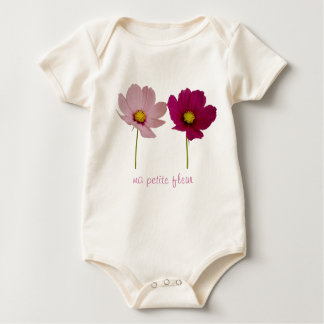 my small flower baby bodysuit
